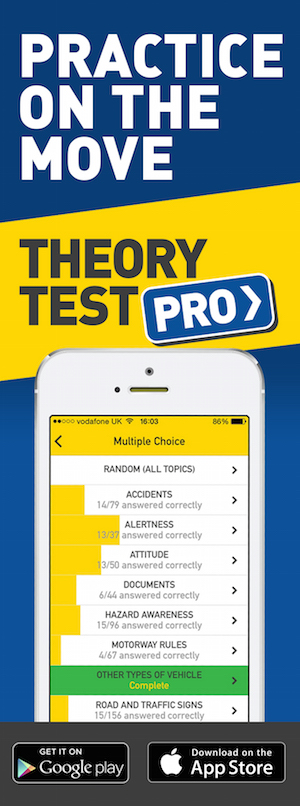 Theory Test Pro in partnership with Cullens Driving School